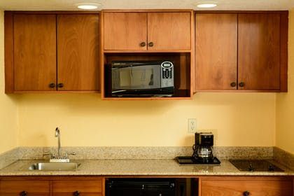 In-Room Kitchenette | Quality Inn & Suites Port Canaveral Area