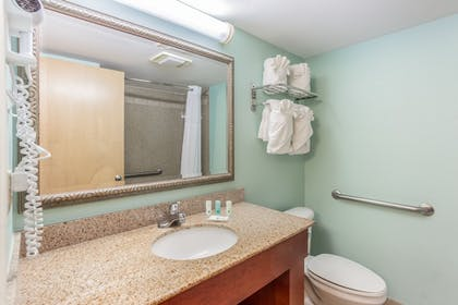 Guestroom | Quality Inn & Suites Port Canaveral Area