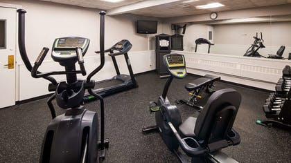 Fitness Facility | Best Western Woodhaven Inn