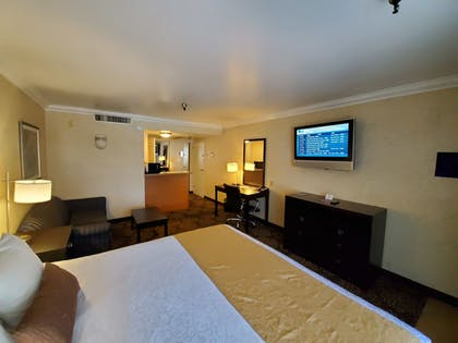 Guestroom View | Hotel d'Lins Ontario Airport