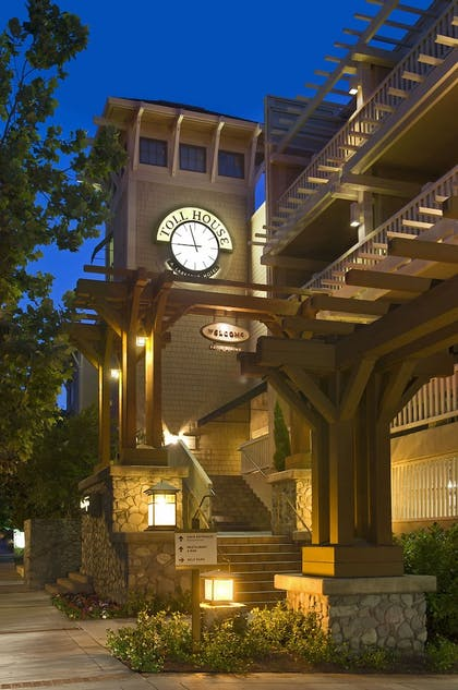 Hotel Front - Evening/Night | Toll House Hotel