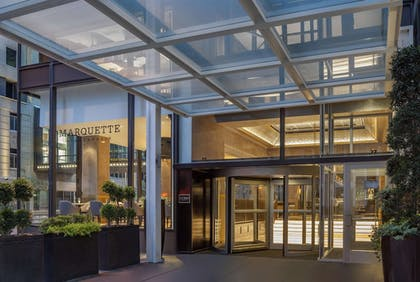 Exterior   The Marquette Hotel, Curio Collection by Hilton