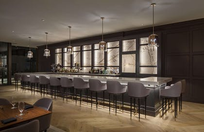 Bar   The Marquette Hotel, Curio Collection by Hilton