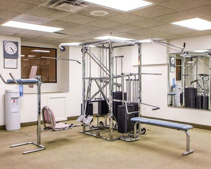 Fitness Facility | Quality Inn & Suites Orland Park - Chicago