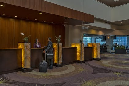 Check-in/Check-out Kiosk | Holiday Inn Chicago-Mart Plaza River North