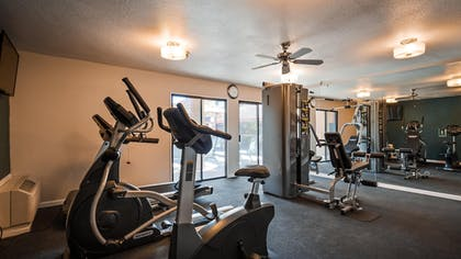 Fitness Facility | Best Western Plus Executive Inn & Suites