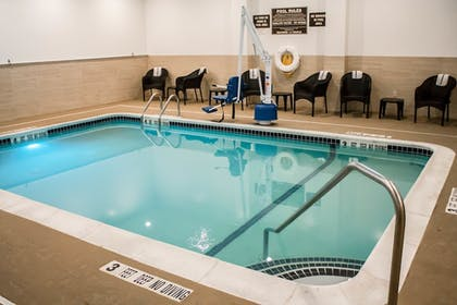 Pool | Holiday Inn Express and Suites Albany Airport- Wolf Road