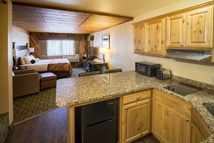 In-Room Kitchen | Best Western Plus Tree House