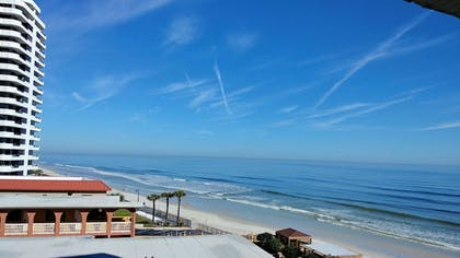 Balcony View | Tropical Winds Oceanfront Hotel