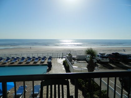 View from Hotel | Tropical Winds Oceanfront Hotel