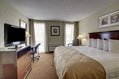 Guestroom | Ramada by Wyndham Wichita Airport