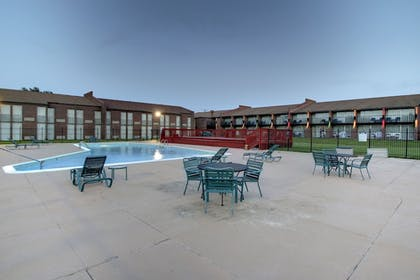 Pool | Ramada by Wyndham Wichita Airport
