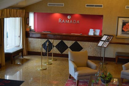 Lobby | Ramada by Wyndham Wichita Airport