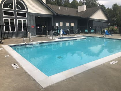 Outdoor Pool | Albany Airport Inn and Suites