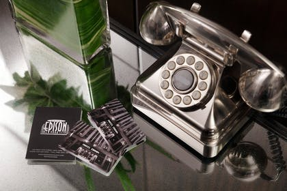 In-Room Amenity | Hotel Edison