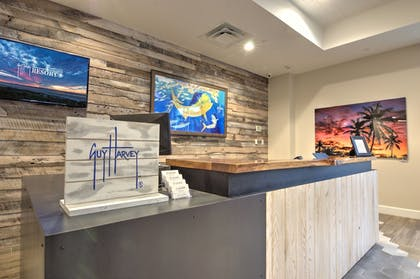 Check-in/Check-out Kiosk | Guy Harvey Resort on St Augustine Beach