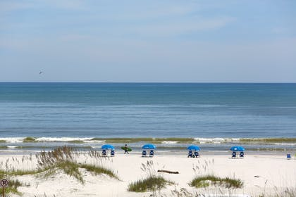 View from Hotel | Guy Harvey Resort on St Augustine Beach