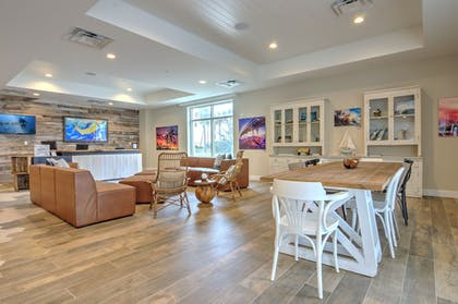 Lobby Sitting Area | Guy Harvey Resort on St Augustine Beach