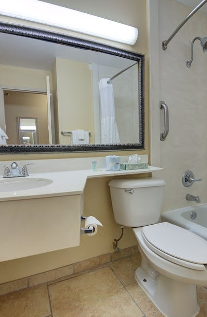 Bathroom | Guy Harvey Resort on St Augustine Beach