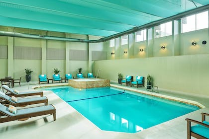 Indoor Pool | Sheraton Portland Airport Hotel