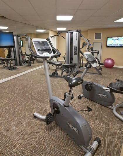 Fitness Facility | Arlington Court Suites, a Clarion Collection Hotel