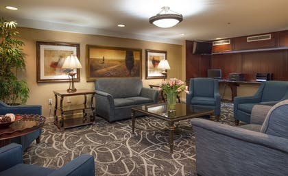 Lobby Sitting Area | Arlington Court Suites, a Clarion Collection Hotel