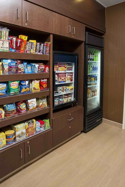 Snack Bar | Fairfield Inn & Suites Quincy