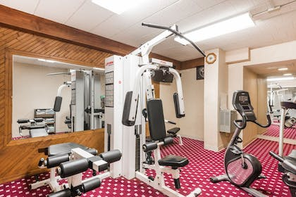 Fitness Facility | Ramada Hotel & Conference Center by Wyndham State College