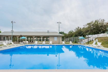 Pool | Ramada Hotel & Conference Center by Wyndham State College