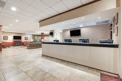 Lobby | Ramada Hotel & Conference Center by Wyndham State College