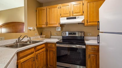 In-Room Kitchen | Best Western Plus At Lake Powell