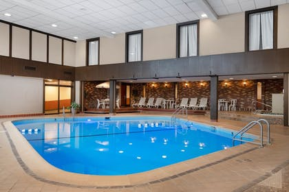 Indoor Pool | Ramada by Wyndham Albert Lea