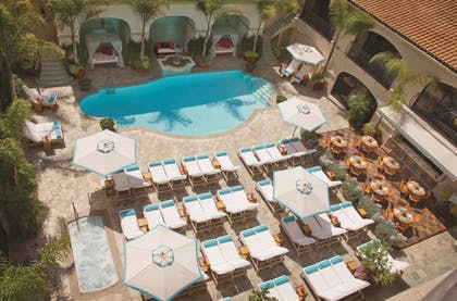 Outdoor Pool   Beverly Wilshire, Beverly Hills