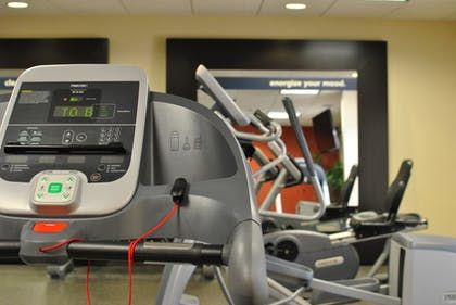 Fitness Facility | Hampton Inn Raleigh/Town Of Wake Forest