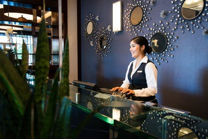 Check-in/Check-out Kiosk | Platinum Hotel