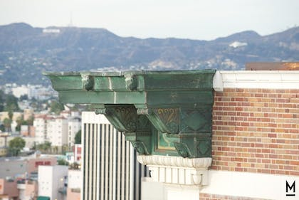 View from Hotel | The Mayfair Hotel Los Angeles