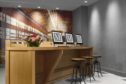 Business Center | The Manhattan at Times Square Hotel