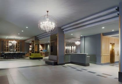 Lobby | The Manhattan at Times Square Hotel