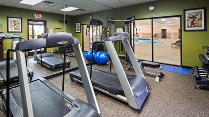 Fitness Facility   Best Western Plus North Haven Hotel