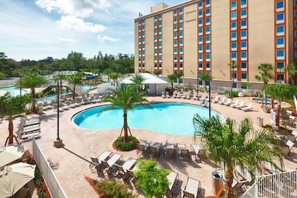 Resort View | Red Lion Hotel Orlando Lake Buena Vista South
