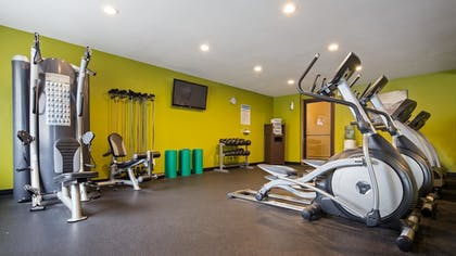 Fitness Facility | Best Western Ambassador Inn & Suites