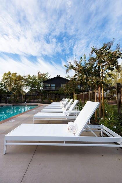 Outdoor Pool | SENZA Hotel