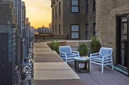 Terrace/Patio |  | Stewart Hotel New York