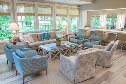 Living Area | The Mansion at Ocean Edge