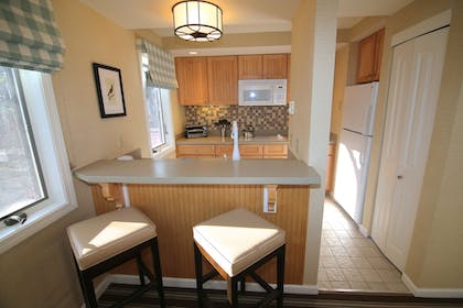 In-Room Kitchenette | The Mansion at Ocean Edge