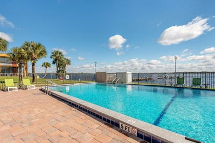 Pool | Quality Inn And Suites Riverfront