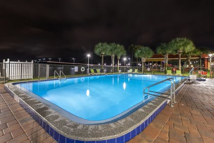 Outdoor Pool | Quality Inn And Suites Riverfront