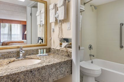 Bathroom | Quality Inn And Suites Riverfront