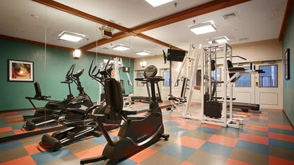Fitness Facility | Best Western Plus Como Park Hotel