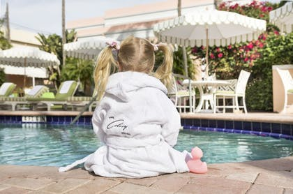 Outdoor Pool   Colony Hotel Palm Beach